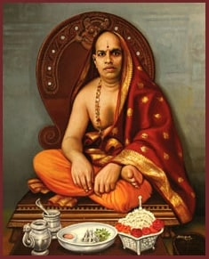 H.H Shrimath Sukrathindra Thirtha Swamiji