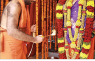 Pratishtapana of Shrimath Sudhindra Thirtha Swamiji's idol in Haridwar