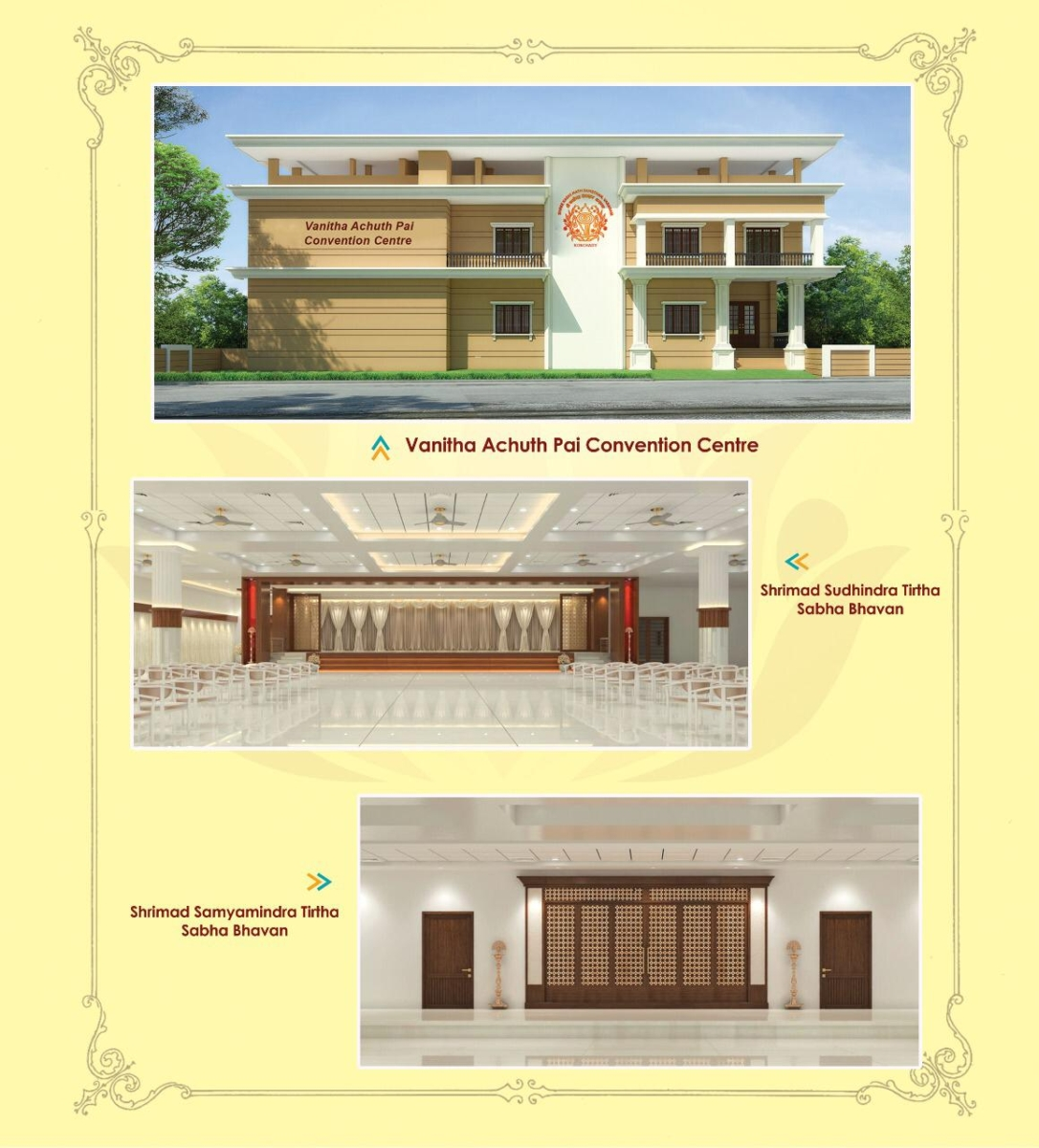 Inauguration of Rajata Tirtha Mantapa & Convention Centre at Konchady SKM